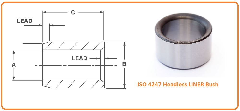 ISO 4247 Headless LINER Bush